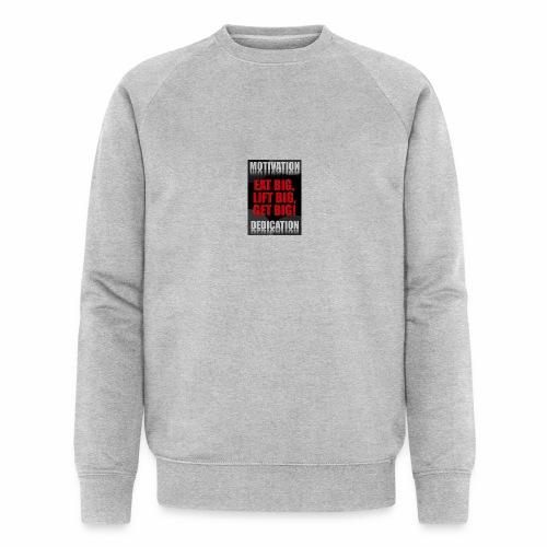 Motivation gym - Ekologisk sweatshirt herr från Stanley & Stella