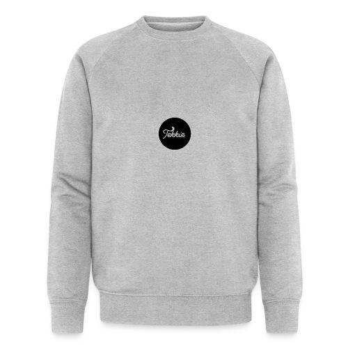 Tekkie Black Logo - Mannen bio sweatshirt