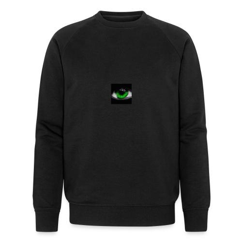 Green eye - Men's Organic Sweatshirt by Stanley & Stella