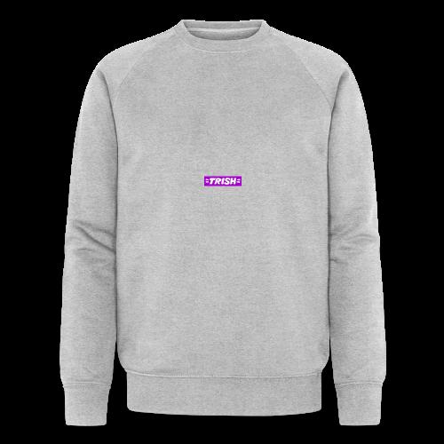 trish logo - Men's Organic Sweatshirt by Stanley & Stella