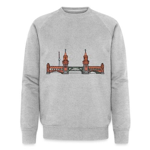 Oberbaumbrücke BERLIN - Männer Bio-Sweatshirt von Stanley & Stella