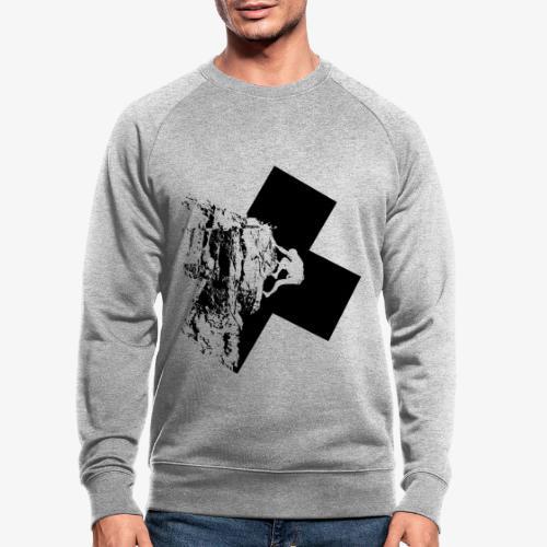 Rock climbing - Men's Organic Sweatshirt