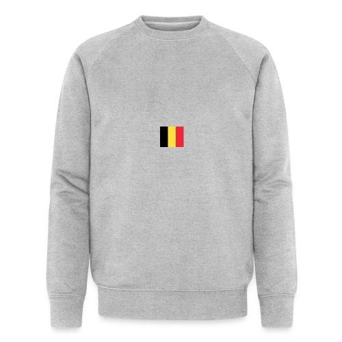 vlag be - Mannen bio sweatshirt