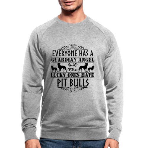 Pit Bull Angels II - Miesten luomucollegepaita