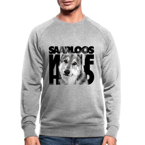 Saarloos Wolfhond II - Miesten luomucollegepaita