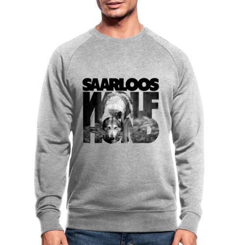 Saarloos Wolfhond III - Miesten luomucollegepaita