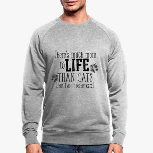 More to Life Cats B - Miesten luomucollegepaita