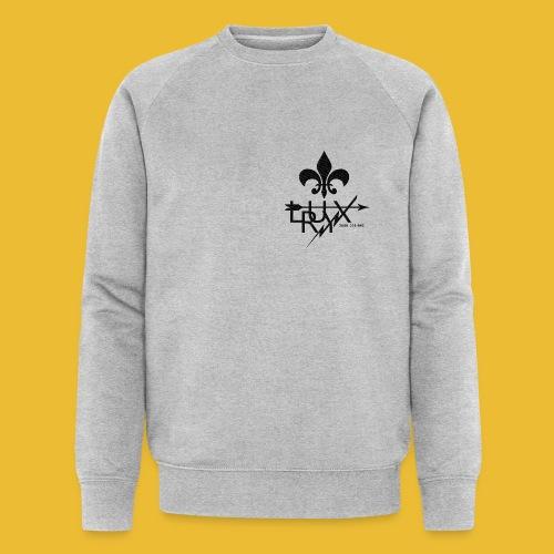 Luxry (Black) - Men's Organic Sweatshirt by Stanley & Stella