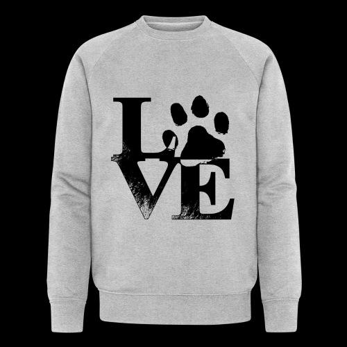 LOVE - Sweat-shirt bio Stanley & Stella Homme