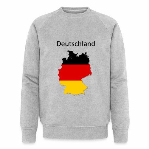 Deutschland Karte - Männer Bio-Sweatshirt von Stanley & Stella