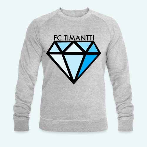 FC Timantti mustateksti - Miesten luomucollegepaita