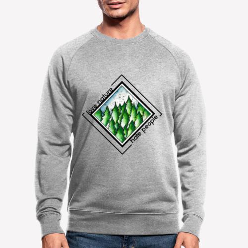 Love Nature - Männer Bio-Sweatshirt
