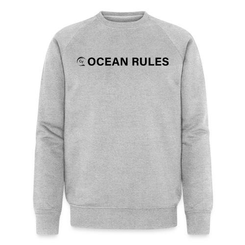 oceanrules black - Männer Bio-Sweatshirt von Stanley & Stella