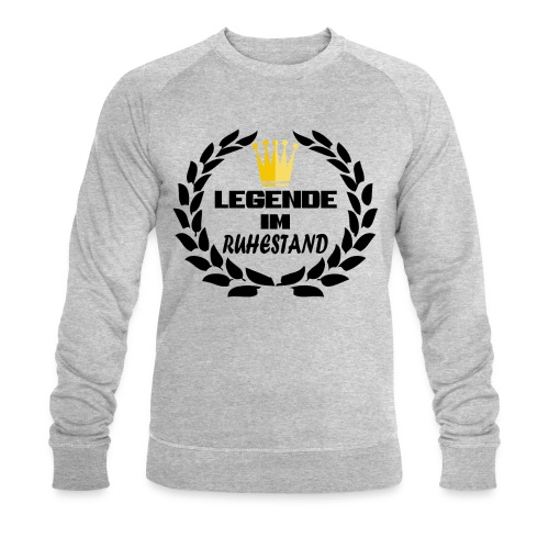 Legende im Ruhestand - Männer Bio-Sweatshirt von Stanley & Stella