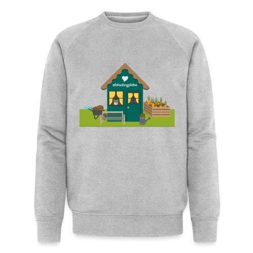 Schrebergartenhaus - Männer Bio-Sweatshirt von Stanley & Stella