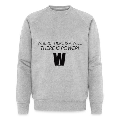 Willpower Science - Men's Organic Sweatshirt by Stanley & Stella