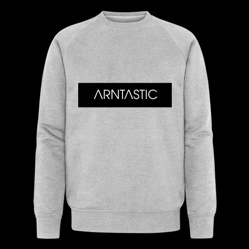 ARNTASTIC balken schwarz - Männer Bio-Sweatshirt von Stanley & Stella