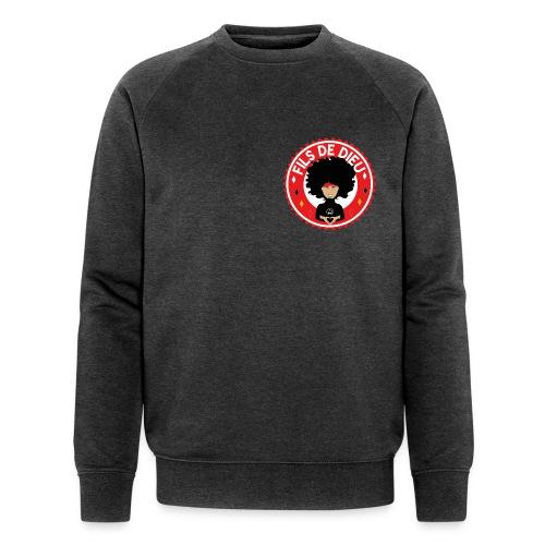Fils de Dieu rouge - Sweat-shirt bio Stanley & Stella Homme