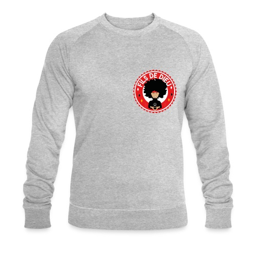 Fils de Dieu rouge - Sweat-shirt bio