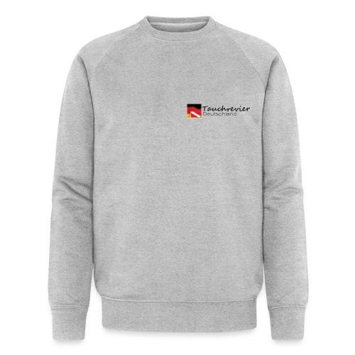 Tauchrevier Deutschland Logo classic schwarz - Männer Bio-Sweatshirt von Stanley & Stella