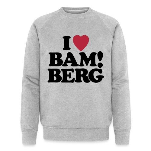 I Love Bamberg 2018 - Männer Bio-Sweatshirt von Stanley & Stella