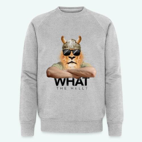 What the hell? - Männer Bio-Sweatshirt von Stanley & Stella