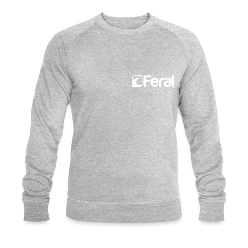 Feral White Breast - Men's Organic Sweatshirt by Stanley & Stella
