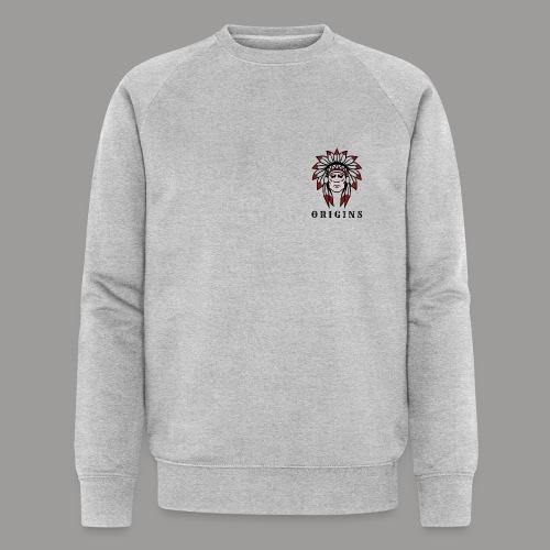 logo origins version indien - Sweat-shirt bio