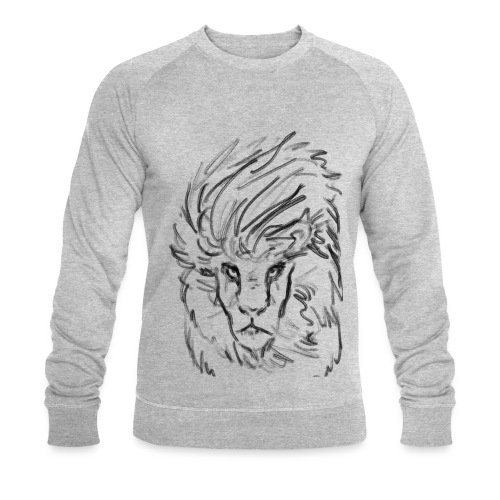 Lion - Men's Organic Sweatshirt by Stanley & Stella