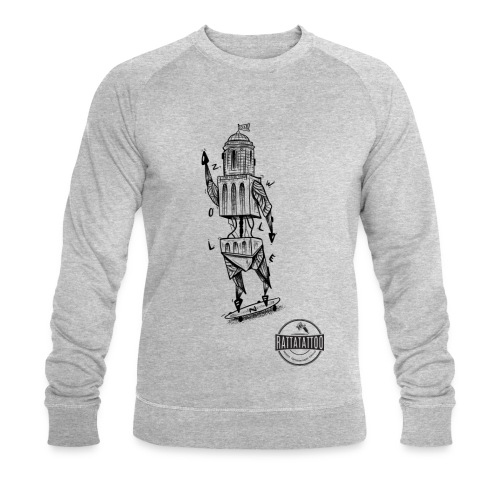 ZWOLLE 038 rattatattoo zwolle perperbus - Mannen bio sweatshirt van Stanley & Stella
