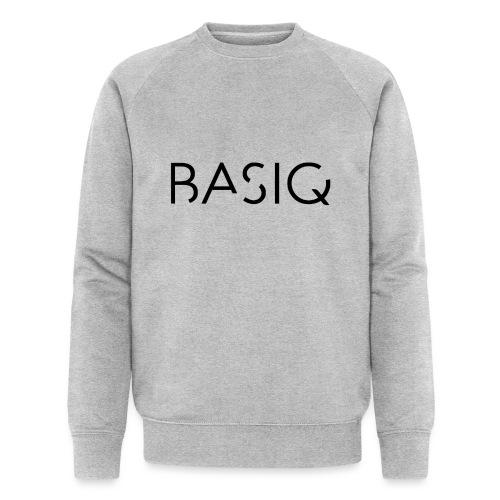 Basiq black - Männer Bio-Sweatshirt