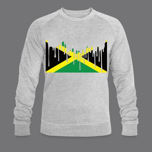 JAMAICAN FLAG Tee Shirts - Men's Organic Sweatshirt by Stanley & Stella