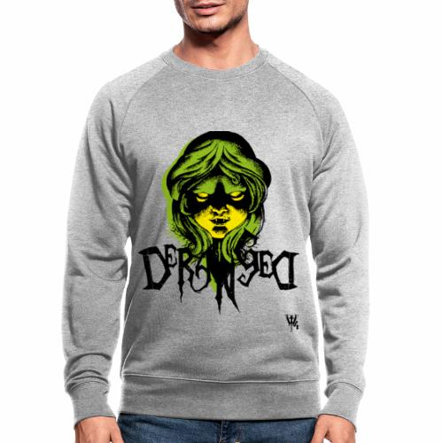 DerangeD - Tattoo Metal Horror Vampire - Økologisk sweatshirt til herrer