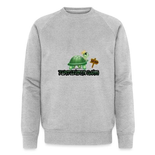 Turtle Neck Design 1 - Men's Organic Sweatshirt