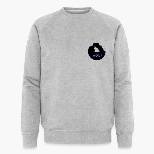Wolf Mountain circle - Men's Organic Sweatshirt