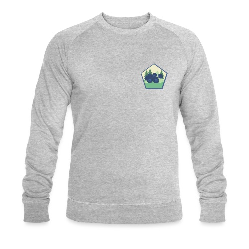 The blueberry forest - Ekologisk sweatshirt herr