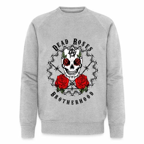 Dead Roses 2nd Logo - Men's Organic Sweatshirt by Stanley & Stella