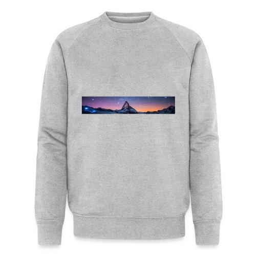 Mountain sky - Männer Bio-Sweatshirt