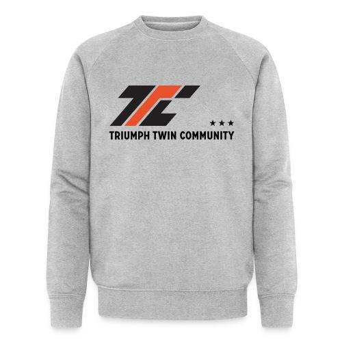 ttc letters a4 - Mannen bio sweatshirt
