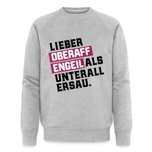 Ober-AFFEN-GEIL - Männer Bio-Sweatshirt von Stanley & Stella