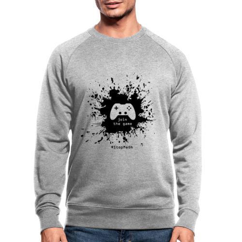 Join the game - Men's Organic Sweatshirt