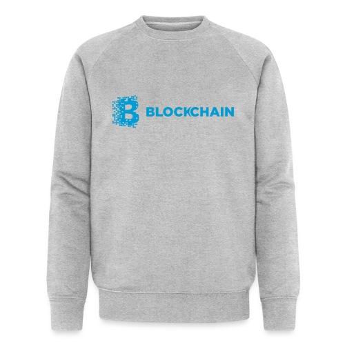 Blockchain Logo Blue - Sweat-shirt bio Stanley & Stella Homme