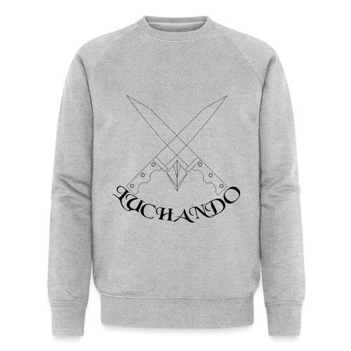 design 1 - Økologisk Stanley & Stella sweatshirt til herrer