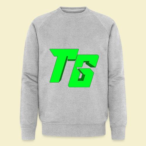 TristanGames logo merchandise [GROOT LOGO] - Mannen bio sweatshirt