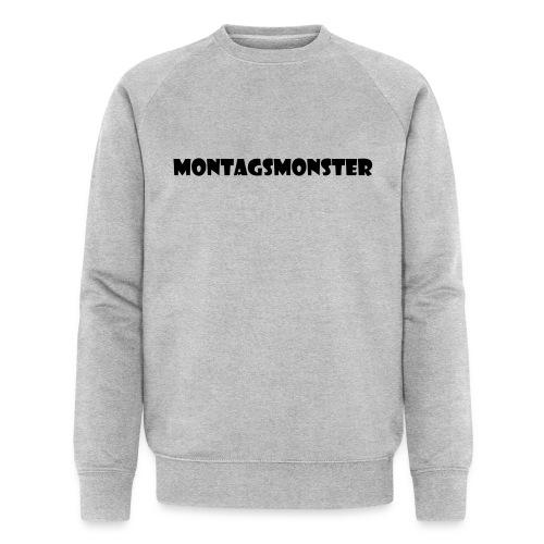 Montagsmonster - Männer Bio-Sweatshirt von Stanley & Stella