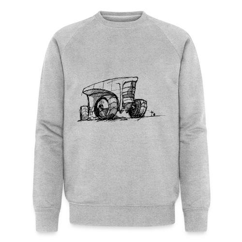 Futuristic design tractor - Men's Organic Sweatshirt