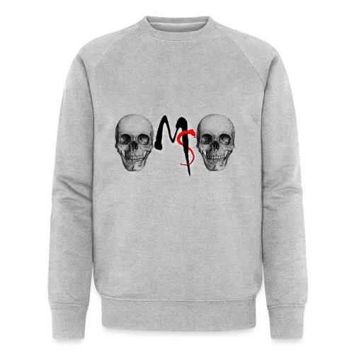 skulls - Mannen bio sweatshirt van Stanley & Stella