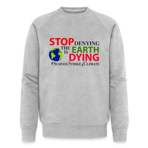 School Strike 4 Climate - Mannen bio sweatshirt van Stanley & Stella
