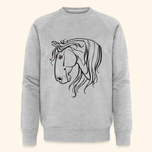 Cheval espagnol (noir) - Sweat-shirt bio Stanley & Stella Homme