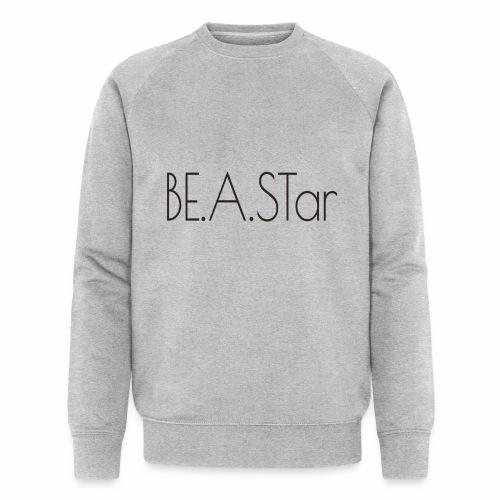BEASTar text dark - Männer Bio-Sweatshirt von Stanley & Stella